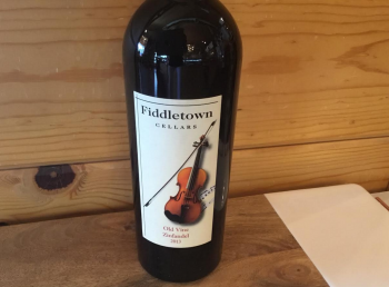 The Cork and More, Fiddletown Cellars Wine