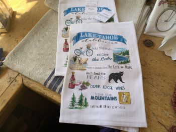The Cork and More, Tahoe Kitchen Towels