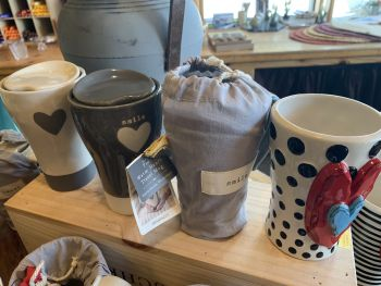 The Cork and More, Warm Heart Travel Mugs